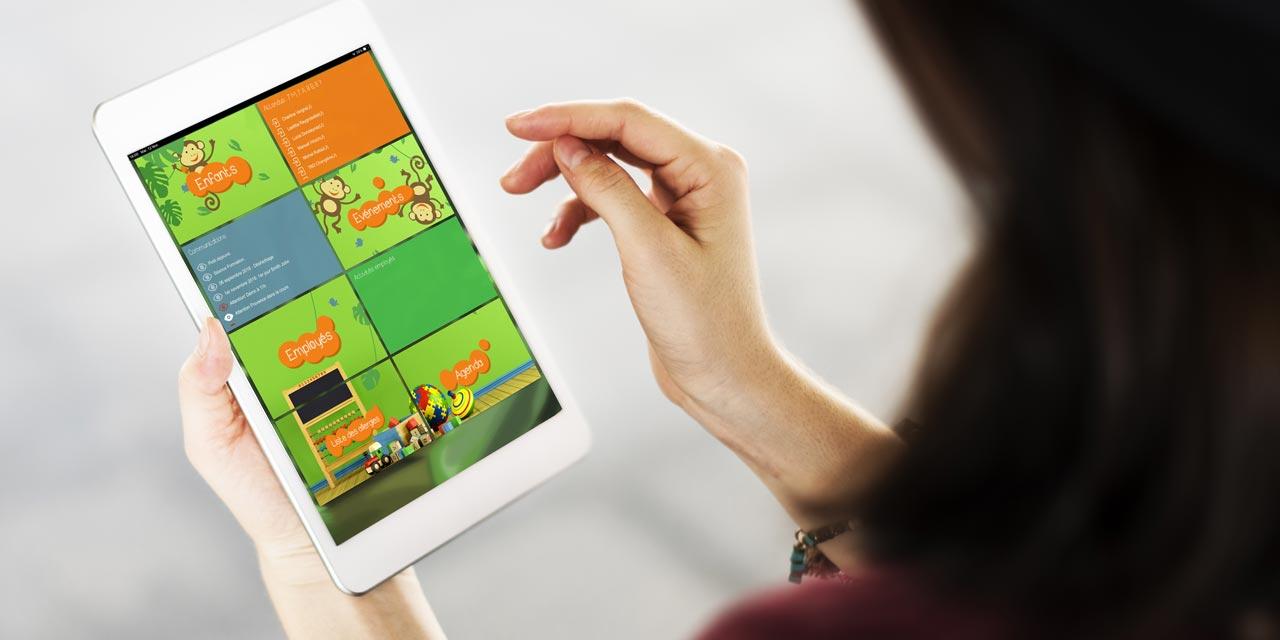 Utilisation de la tablette dans les groupes